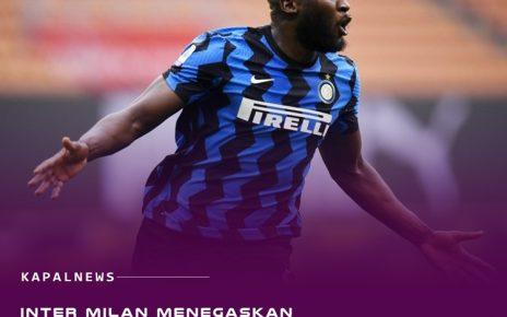 Inter : Lukaku Tidak Akan Dijual!