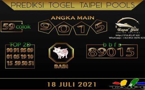 PREDIKSI TOGEL TAIPE POOLS 18 JULI 2021 KAPAL JUDI