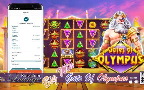 WIN GATE OF OLYMPUS 22 AGUSTUS 2021 KAPALJUDI LOUNGE