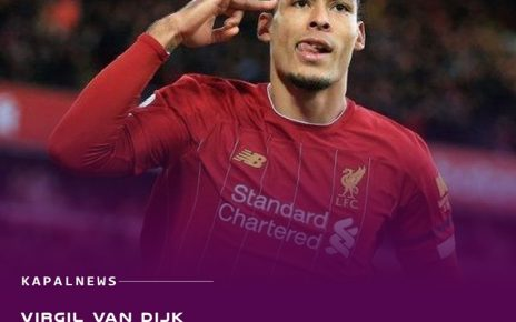 Virgil van Dijk Perpanjang Kontrak di Liverpool
