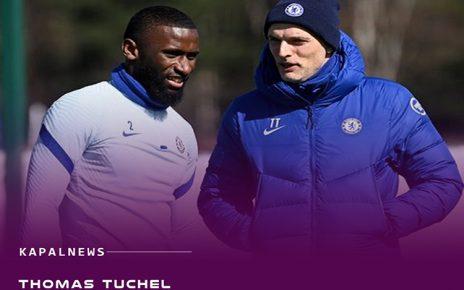 Tuchel Yakinkan Antonio Ruediger Bertahan di Chelsea