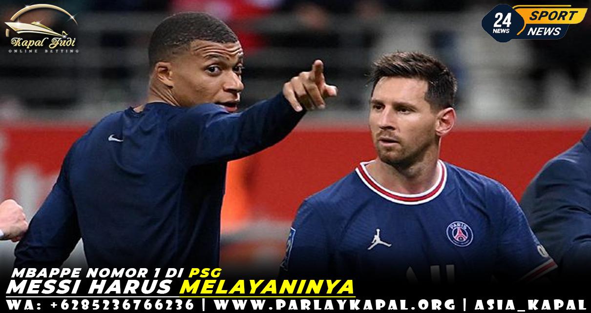 Mbappe Nomor 1 di PSG, Messi Harus Melayaninya