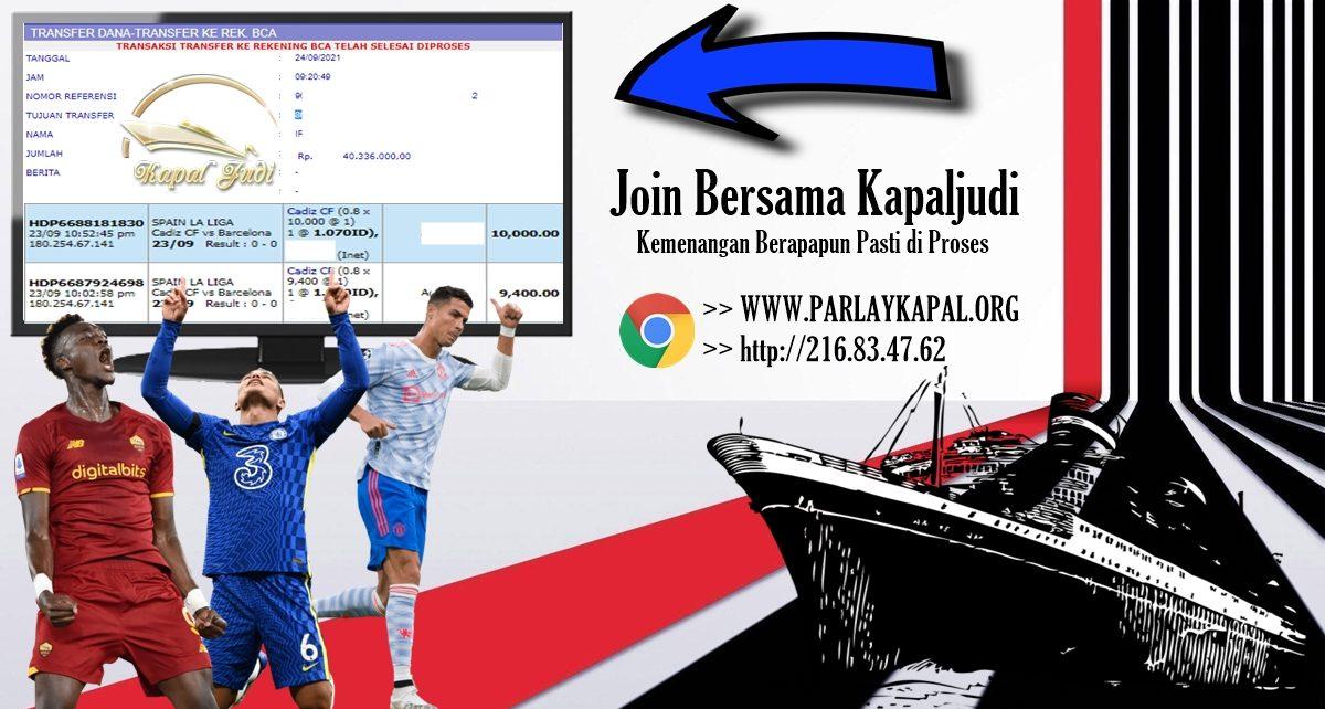 Info Kemenangan: Sportbook 24 September 2021