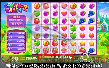 Jackpot Slot Pragmatic Fruit Party 2 Kapal Judi 12 Oktober 2021
