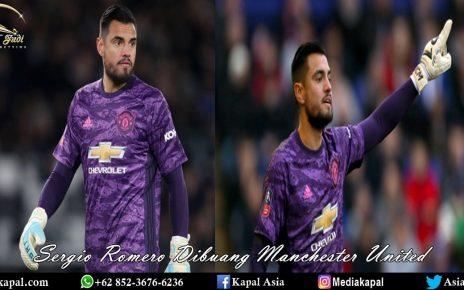 Sergio Romero Dibuang Manchester United